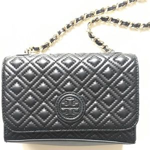 f947b3b1408 Tory Burch Bags - Tory Burch Marion quilted shrunken shoulder bag